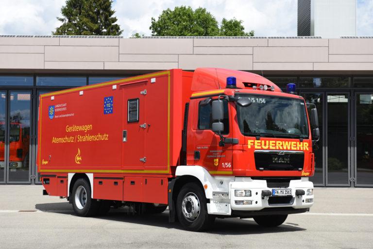 Gerätewagen Atemschutz / Strahlenschutz (GW-A/S)