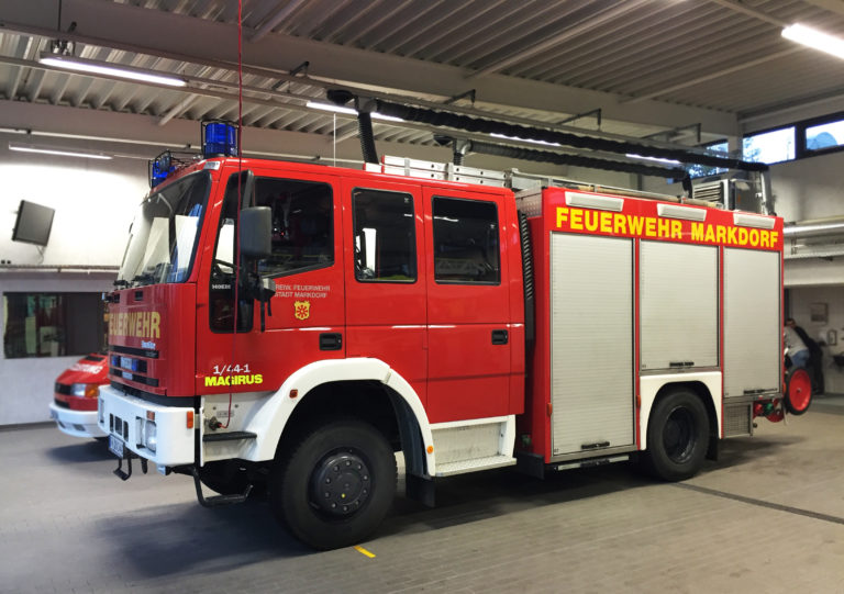 Löschguppenfahrzeug (LF 16/12 CAFS)