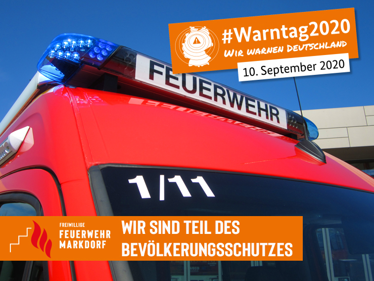 10. September war #Warntag