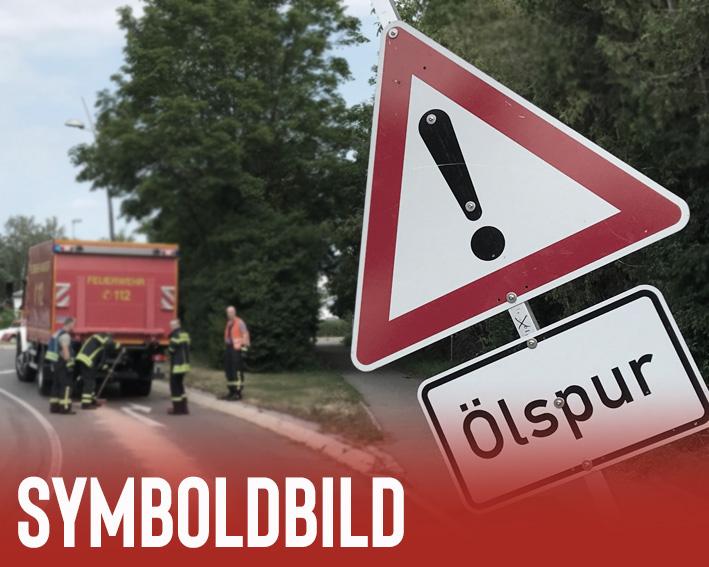 H ÖLSPUR 1 – Ölspur auf B33 bei Ittendorf
