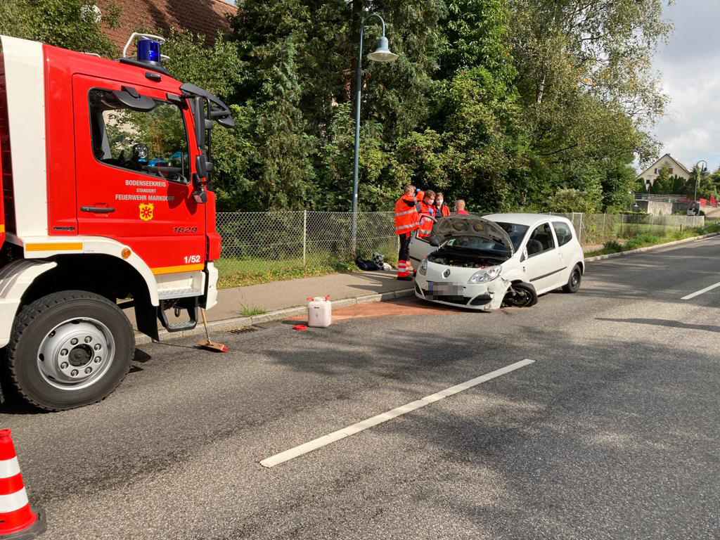 H 1 VU – Verkehrsunfall mit drei PKW