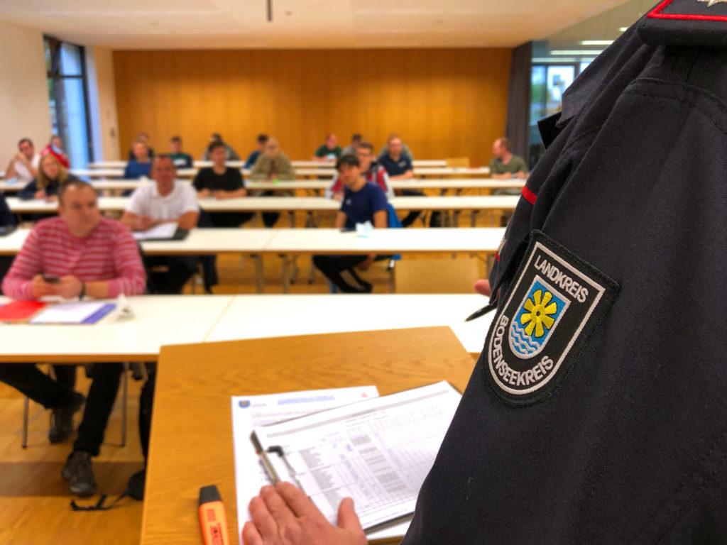 Beginn der Grundausbildung 2021 am Standort Markdorf